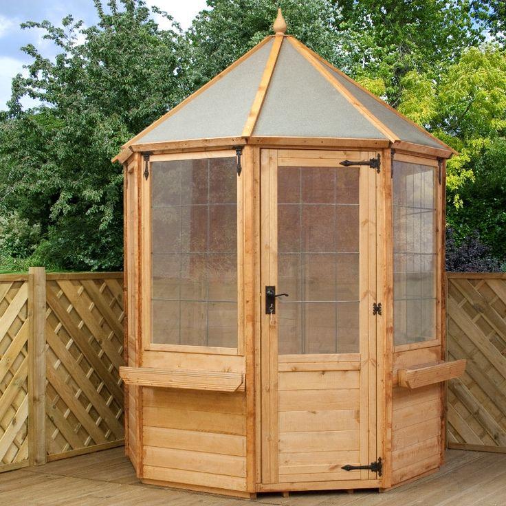 Mercia Garden Products 6 x 6 Octagonal Summerhouse
