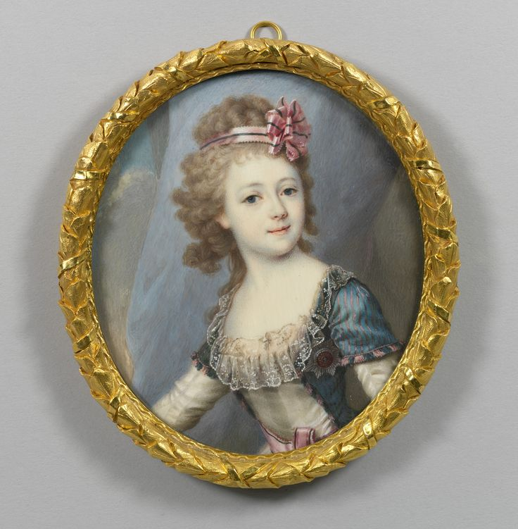 Russian School, 18th century - Princess Alexandra of Russia, Archduchess of Austria (1783-1801)