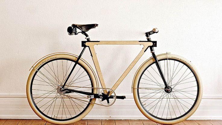 Hipster bike level 10000!!!! This Wooden Bicycle Is Beautifully Impractical