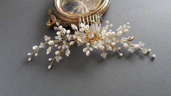 Bridal Headpiece Wedding Hair Comb Bridal Hair Jewelry Wedding