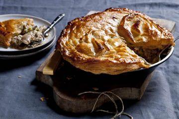 Karen Martini's winter warmer chicken pie