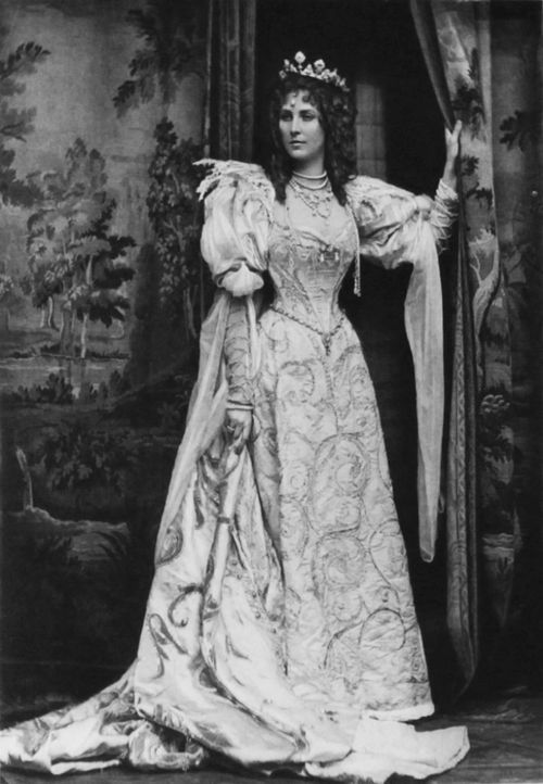 At the Duchess of Devonshire's Diamond Jubilee Fancy Dress Ball in 1897: the Duchess of Portland as the Duchess of Savoy