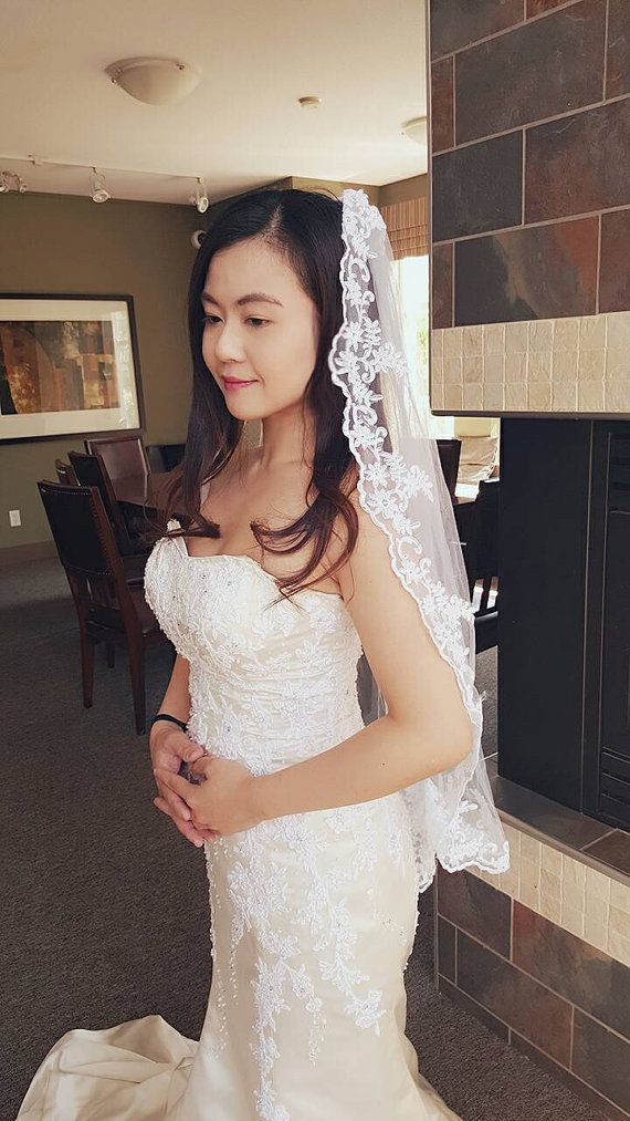 Check out this item in my Etsy shop https://www.etsy.com/ca/listing/278179330/white-bridal-wedding-soft-tulle-veil