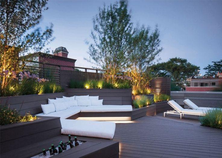 ... - 40 idées sur léclairage de jardin moderne  Led and Decoration