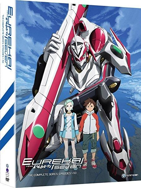 Johnny Yong Bosch & Stephanie Sheh & Tony Oliver-Eureka Seven: The Complete Series