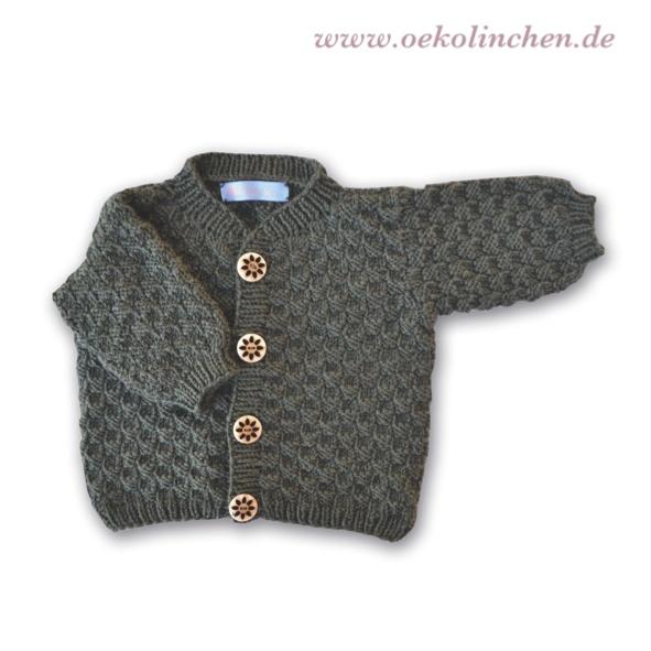 Strickjacke aus Merino-Wolle