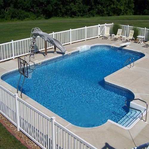 16 x 41 x 26 True L Inground Swimming Pool Kit Swimming