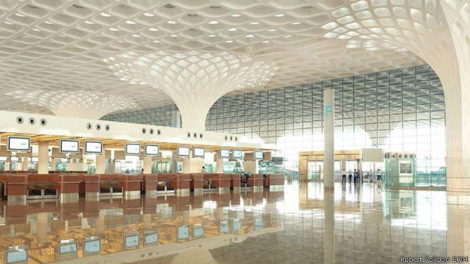 Международный аэропорт имени Чхатрапати Шиваджи в Мумбаи (Индия).