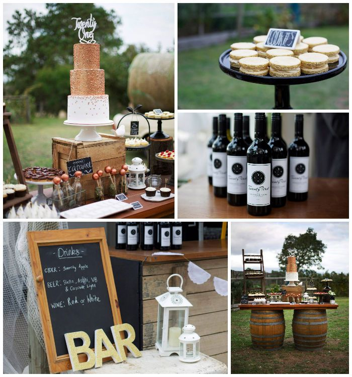 47 Best 21st Birthday Party Ideas Images On Pinterest