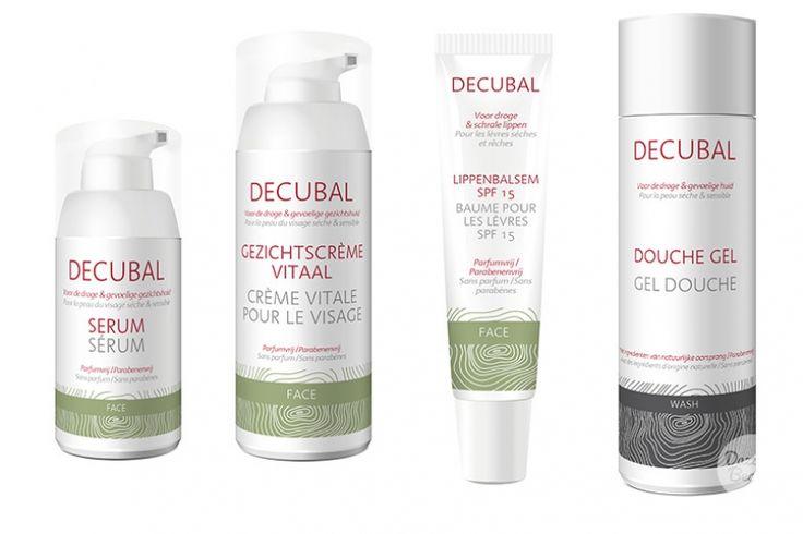 Decubal huidverzorging voor de droge en gevoelige huid. Perfect voor in de winter!