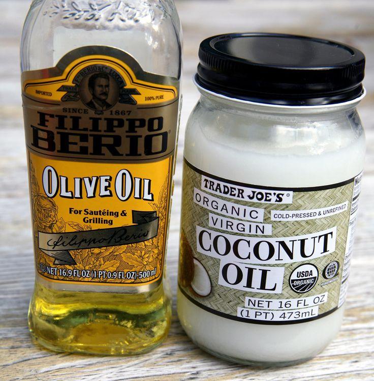 Is Olive or Coconut Oil Better For You? -www.popsugar.com