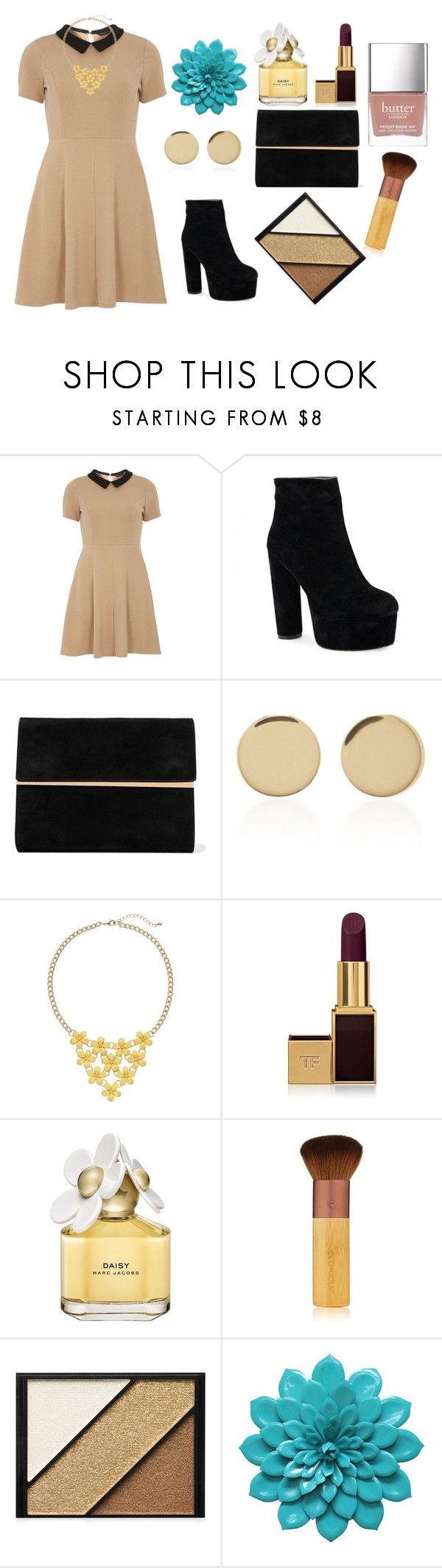 """Untitled #97"" by lenka-skodiova on Polyvore featuring mel, Maison Margiela, Magdalena Frackowiak, Tom Ford, Marc Jacobs, EcoTools, Elizabeth Arden and Butter London"