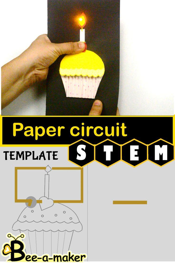paper circuit activity  paper circuits paper soft circuits