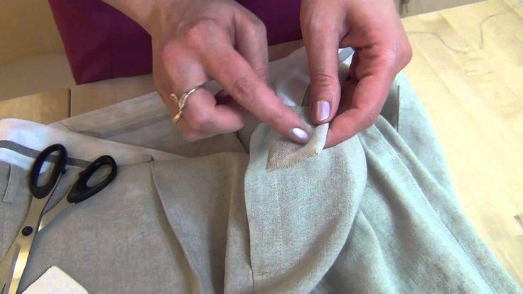 Как сшить мужские брюки 3