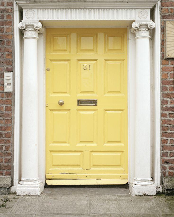 Prehung Interior Doors Ireland: Best 25+ Yellow Front Doors Ideas On Pinterest
