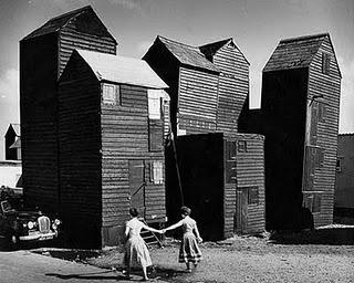 Fishermens Huts Hastings