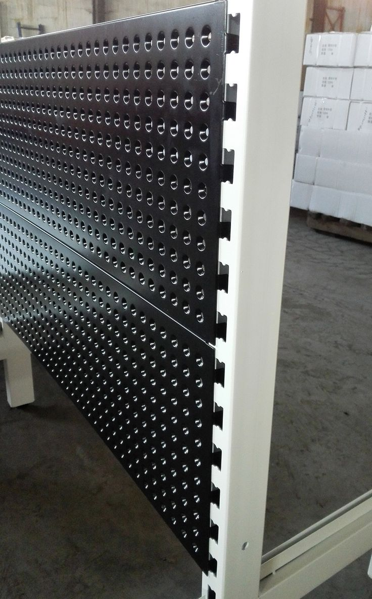 AU50 shelving with volcano hole back panel, more items @ Linkup Store Equipment Co., Ltd.
