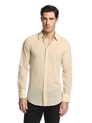 70% OFF Dolce & Gabbana Men's Dress Shirt (Beige)