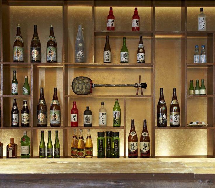 Guu Izakaya Beverages Shelve Interior Design