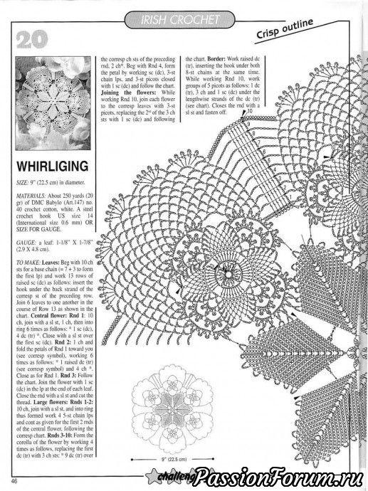 Комментарий к изображению   Patrones   Ganchillo, Croché y Picasa