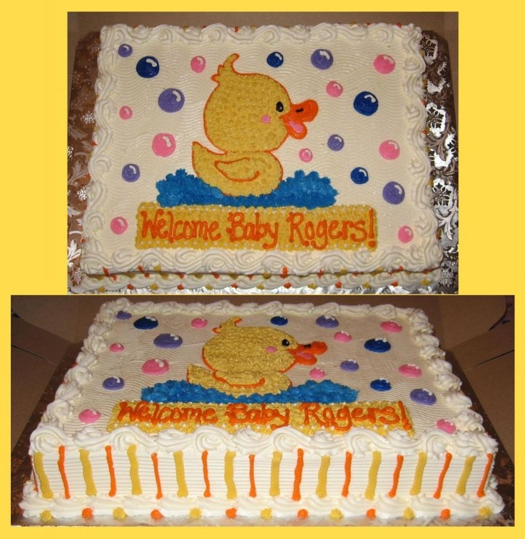 Pictures Of Cute Baby Shower Cakes