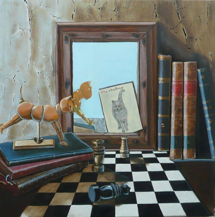 27 best mes tableaux trompe l 39 oeil images on pinterest - Tableaux trompe l oeil ...