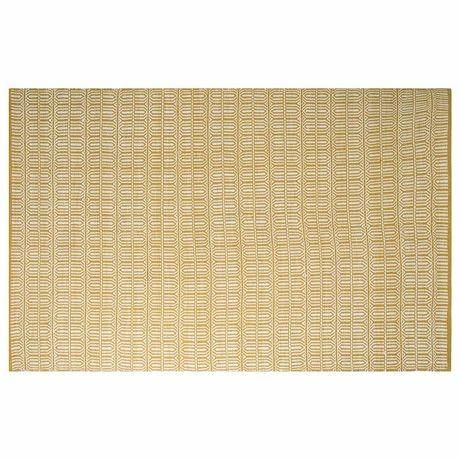 Hayes Floor Rug 160x230cm  Mustard
