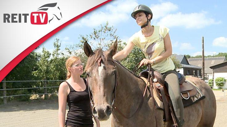 Westernreiten lernen: Zu Besuch in einer Western-Reitschule - YouTube