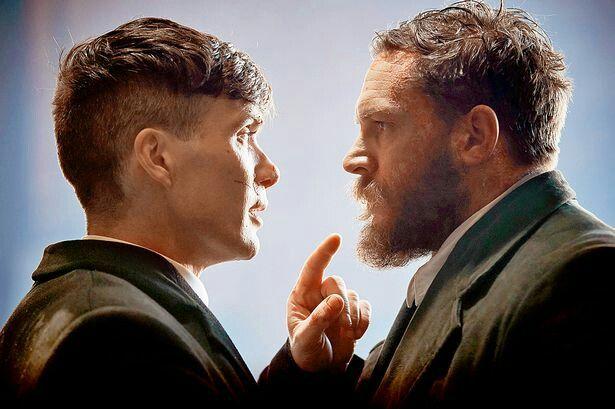 Cillian Murphy and Tom Hardy❤