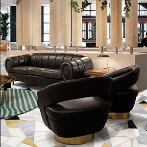 These pieces are the ultimate combination of retro design and contemporary details and express mid-century modern lines that are inspired in the most important historical references from the 30's to the 60's.