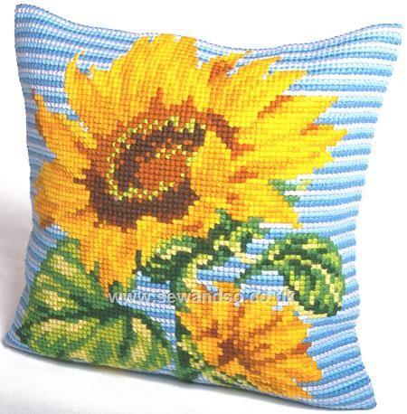 Buy+Zénith+Cushion+Front+Chunky+Cross+Stitch+Kit+Online+at+www.sewandso.co.uk