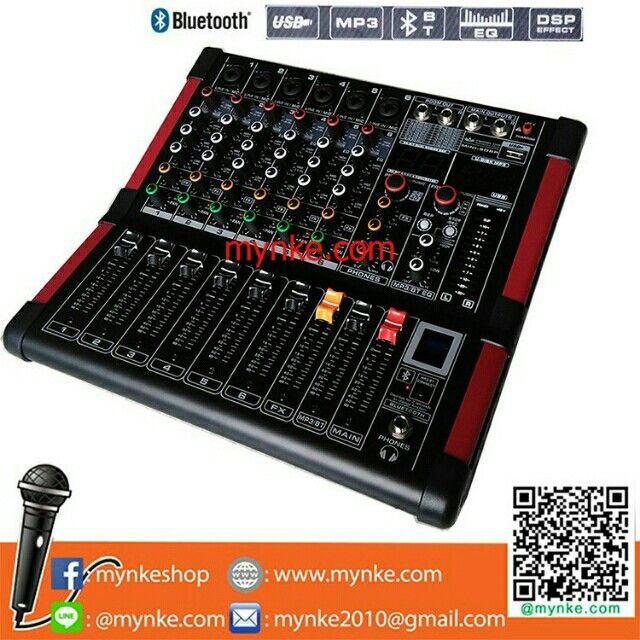 ขาย มิกเซอร์6ช่อง BLUETOOTH USB MP3 16DSP Professional Mixer MIC-LINE ในราคา ฿4,599 ซื้อได้ที่ Shopee ตอนนี้เลย!https://shopee.co.th/mynke.com/290539969/  #ShopeeTH
