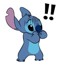 Stitch is back for another round of mischievous and cute expressions for your everyday chats!