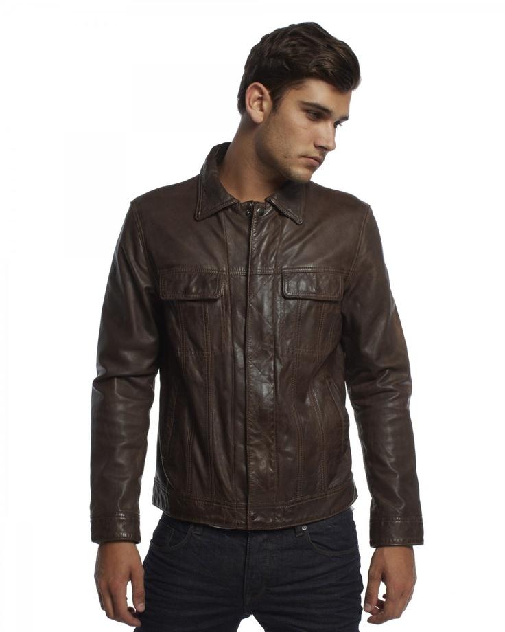 Marchetti leather jacket