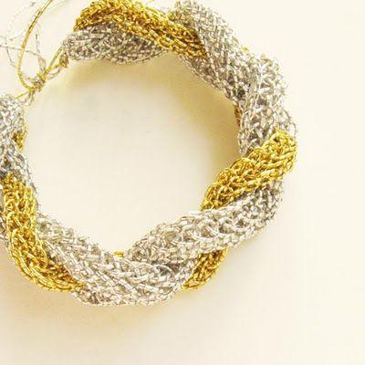 More spool elegance - a bracelet