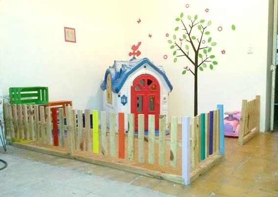 Fun Pallet Projects To Make For Your Kids Playroom And Backyard 518 Best  Repurposed Renewed Them Images On Pinterest. Projects Inspiration Toddler  Playroom.