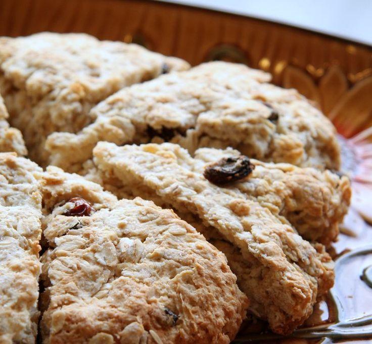 scottish oat scones | Food & Drinks | Pinterest