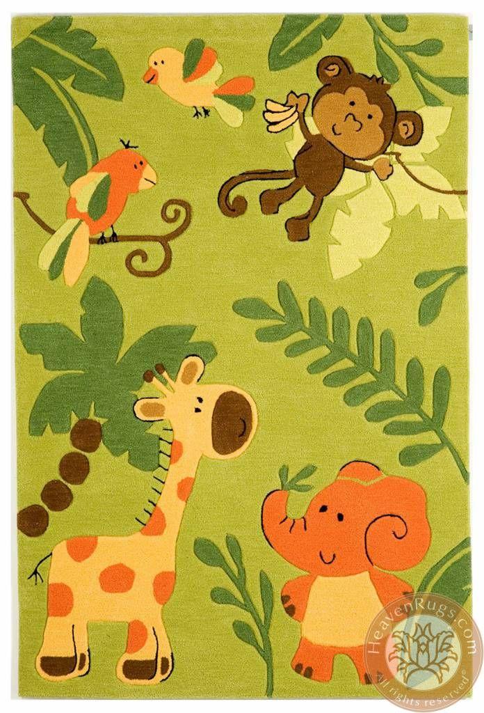 Kids Jungle Carpets. Category: kids. Brand: HeavenRugs