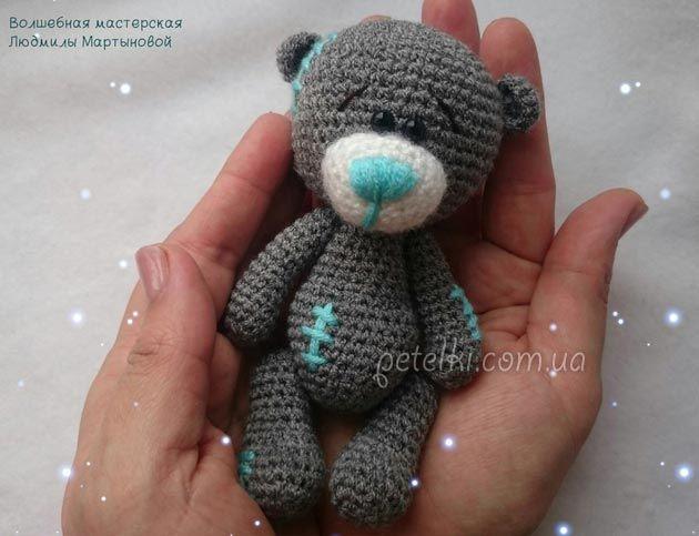 Вяжем Мишку Тедди крючком