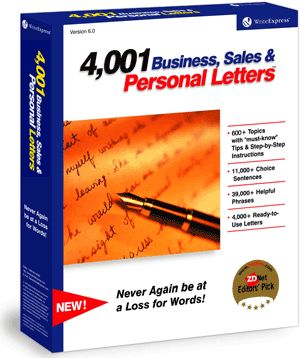 4,001 Business, Sales & Personal Letters decline request for donations