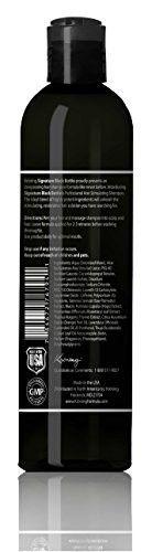 Anti Hair Loss Shampoo For Men -Promotes Hair Growth in Men - DHT Blocker Saw Palmetto Hair Loss Help-(Caffeine & Biotin + Essential Oils & Extracts) -Elite Mens Shampoo - Black Bottle LARGE 8.5oz