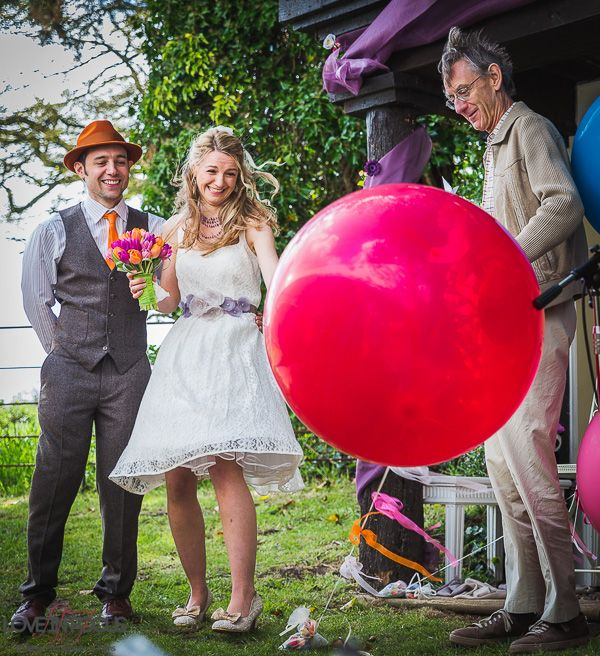 Linda and Paul's fabulously creative alternative Berkshire wedding, with Love in Focus Photography | http://english-wedding.com/2014/06/creative-alternative-berkshire-wedding/ Marquee supplied by LPM Bohemia