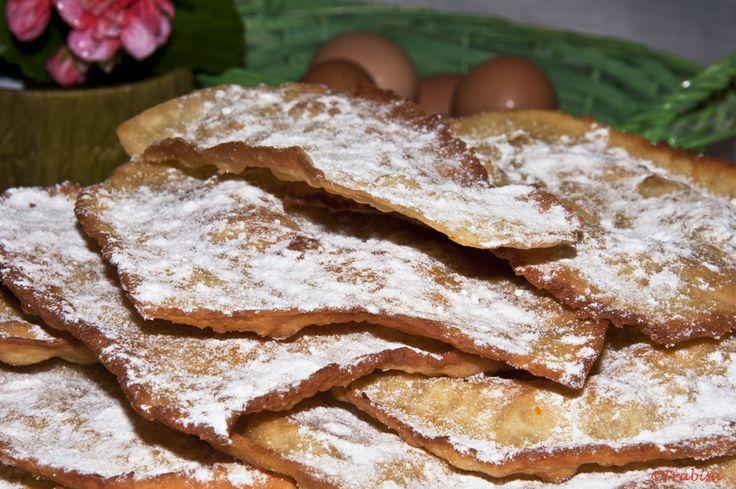 Receta Orejas de carnaval de la abuela Lisi para La cocina de Frabisa