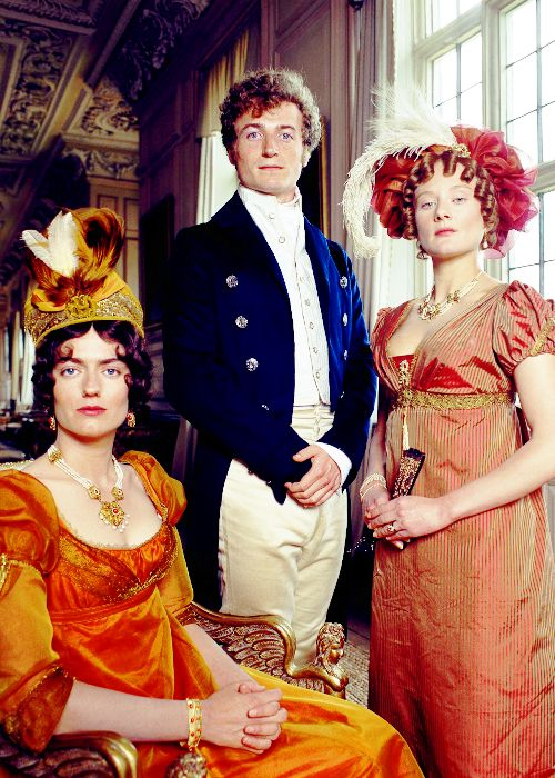 Classic ... Bingley and his sisters, Pride and Prejudice 1995