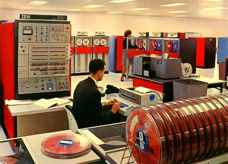 IBM 360 in lovely colors