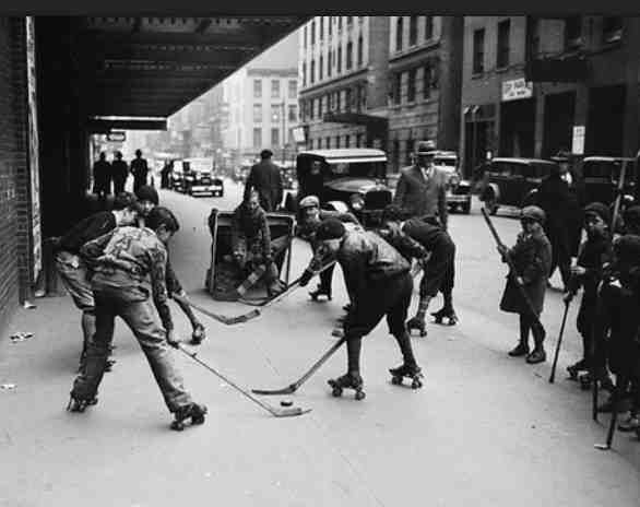 Image Result For Nyc 1932 Street Hockey Hockey Pictures Hockey Highlights