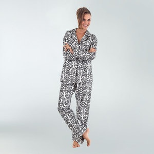 Fleur De Lis Pyjamas Pewter now featured on Fab.