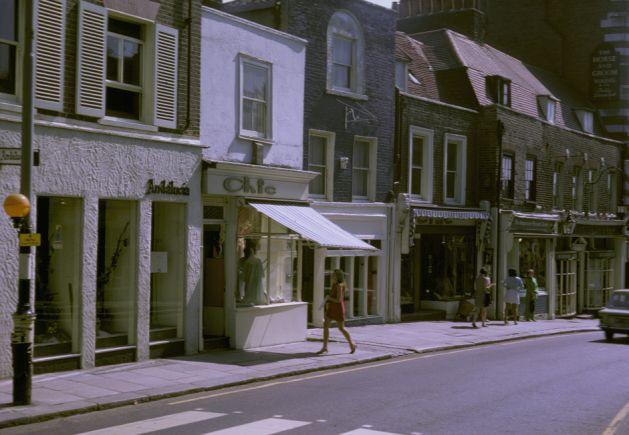 Heath Street, Hampstead Heath, 1967.