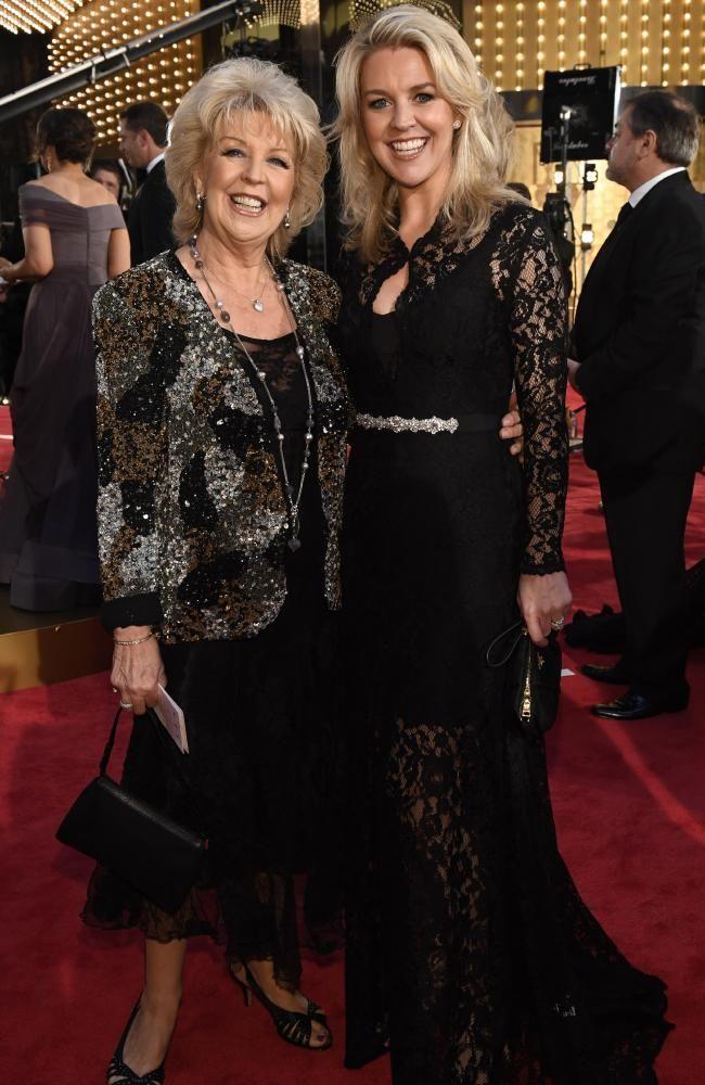 Patti and Lauren Newton