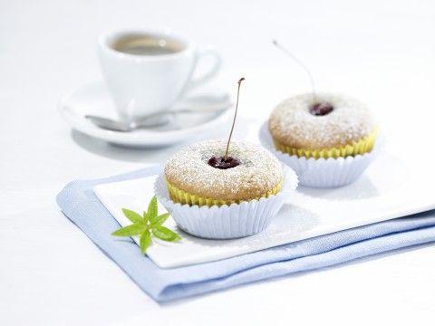 Kirschen-Kokosmuffins